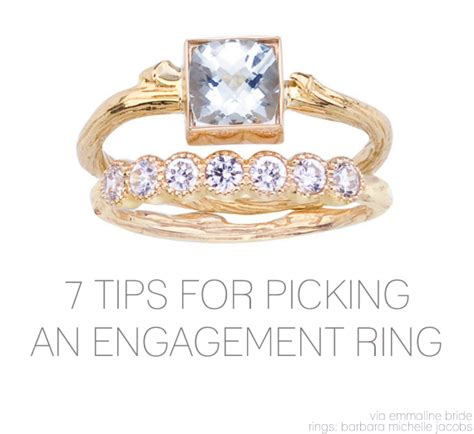 7 Tips To Choose Your Engagement Ring by 7 Tips For Picking A More Beautiful Engagement Ring