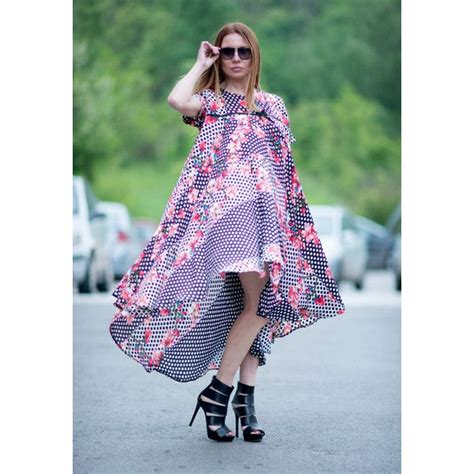 Polka Flower Maxi Dress 1000 ideas about going out dresses on
