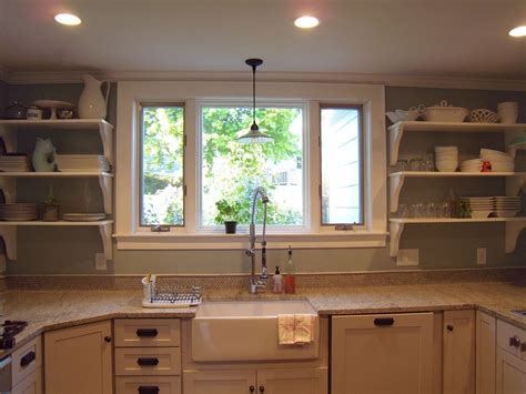 Kitchen Sink Windows Contemporary Kitchen Window Design Modern House