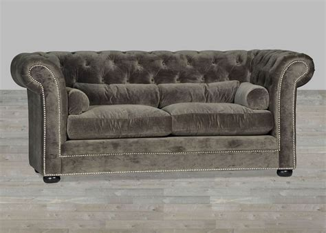 grey velvet chesterfield sofa 1000 ideas about grey velvet sofa on velvet