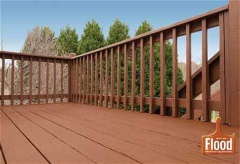 flood chestnut brown solid wood stain beautifies  deck