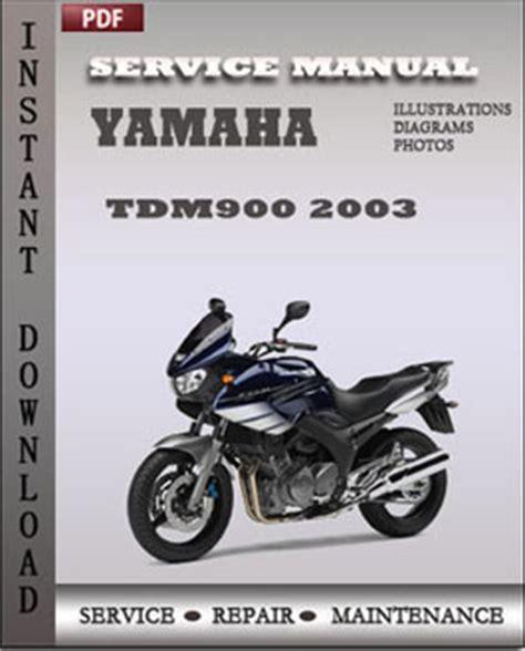 Yamaha Tdm900 2003 Repair Manual Download Repair Service