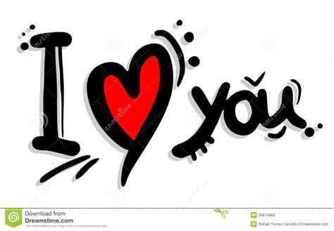imagenes de i love you a lapiz arte ti amo illustrazione vettoriale illustrazione di