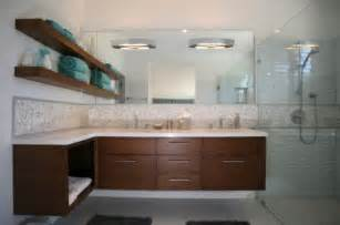 Modern Bathroom Counter Designs How To Take Advantage Of Floating Vanities To Make