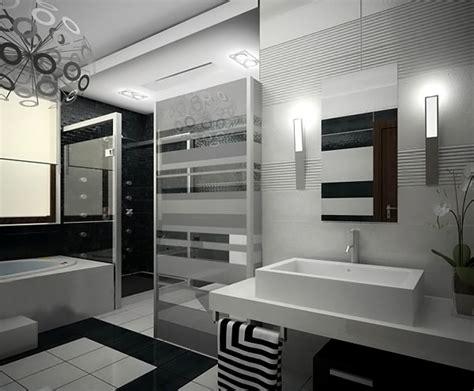 eye catching  luxurious black  white bathrooms