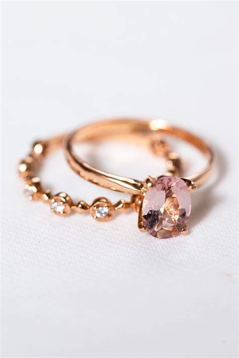 Best 25  Rose gold rings ideas on Pinterest   Rose gold