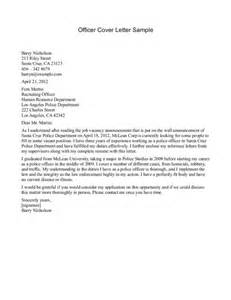 Emt Security Officer Cover Letter by Cover Letter Template For Officer Cover Letter Templates
