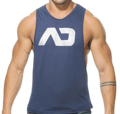 Tank Top Low Rider 2 addicted tank top ad low rider ad43 navy addicted