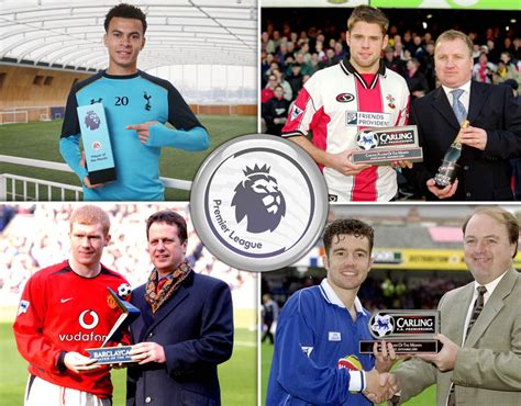 epl awards premier league player of the month how many awards has