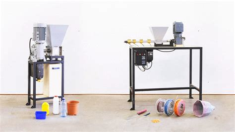 Make Electronic Trash Into Something New by These Diy Machines Let Anyone Recycle Plastic Into New