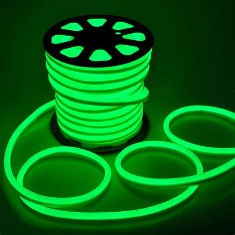 150 ft led neon rope light flex tube sign decorative home