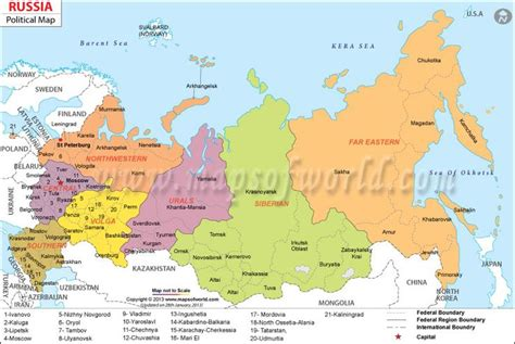 russian map clickable russia map russia