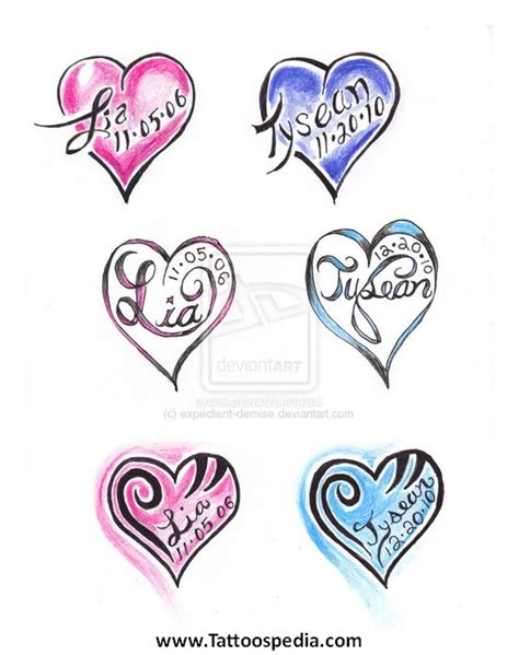 heart name tattoo generator free heart shaped name tattoo generator pictures to pin on
