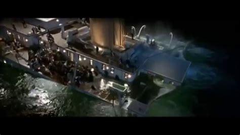 titanic film youtube sinking titanic sinking scene youtube
