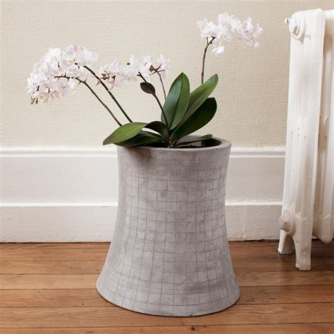 Tower Planter Pots by Nuclear Cooling Tower Concrete Planter The Green