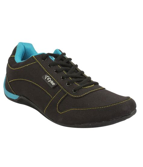 cyke black sport shoes price in india buy cyke black