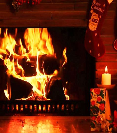 yule log fire live wallpaper android apps on google play christmas fireplace live wallpaper android apps on