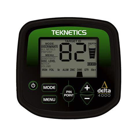 teknetics delta 4000 teknetics delta4000 metal detector shop italia