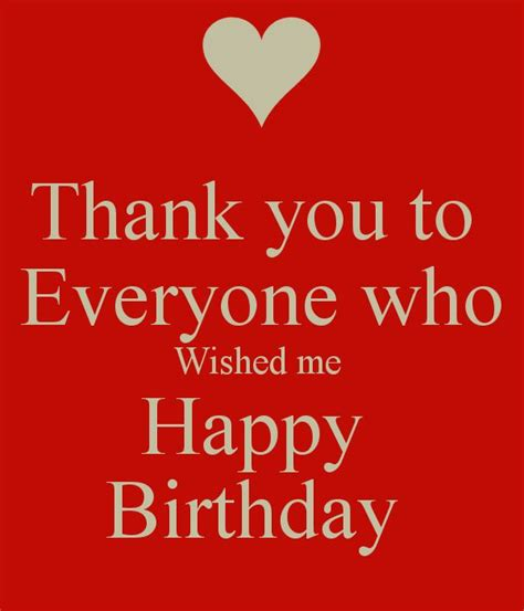 Happy Birthday Everyone by Best 25 Thank You Wishes Ideas On Cards