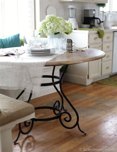 kitchen update painting metal furniture in own style