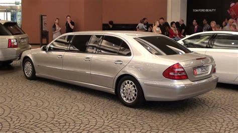 mercedes e class stretch limousine 6 doors