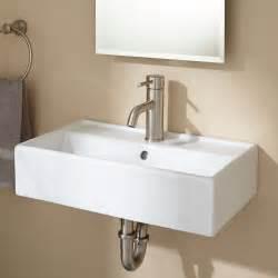 Home bathroom bathroom sinks magali wall mount bathroom sink