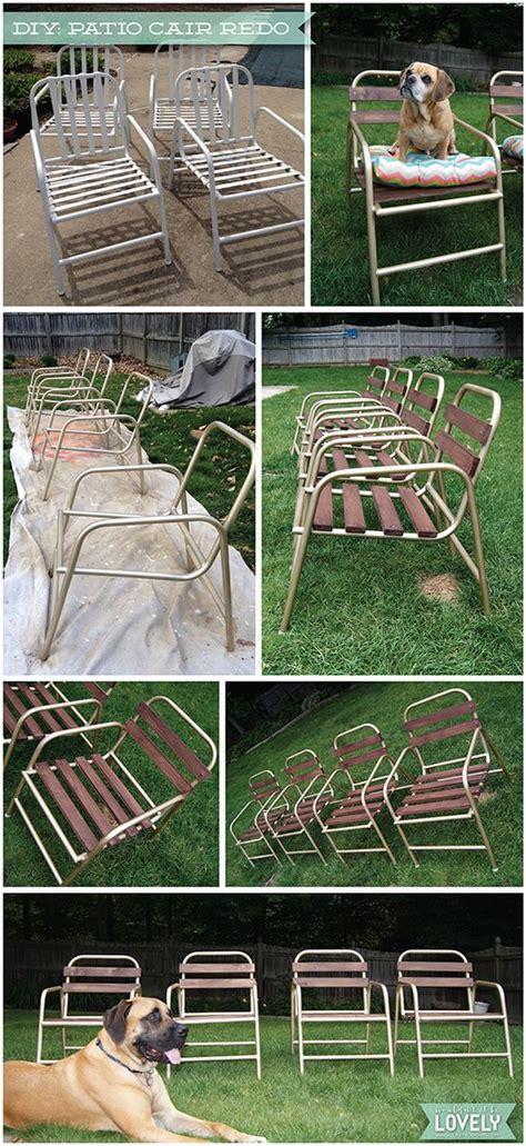 diy patio chairs patio chairs diy patio and chair redo on