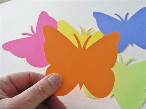 Butterflies Out Of Paper - 8 best images of 3d butterfly cutouts printable 3d