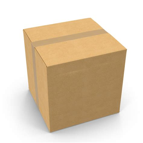 square cardboard box stock images image 29889354 square cardboard box with tape image pixelsquid com