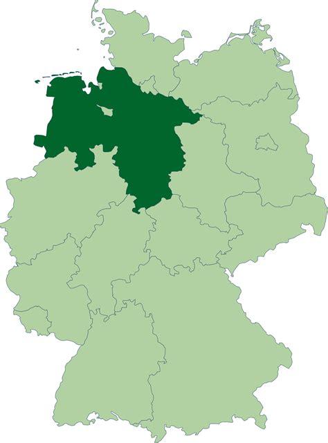 saxony germany map lower saxony germany map