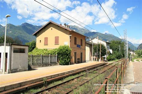 San Cassiano Valchiavenna by M 228 Rklinfan Club Italia Stazioni Colico Chiavenna