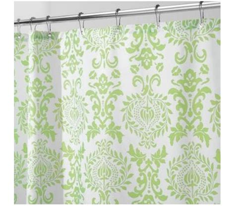 damask shower curtains damask lime shower curtain