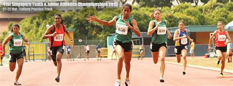 competition 2015 singapore 41st singapore youth junior athletics chionships 2015