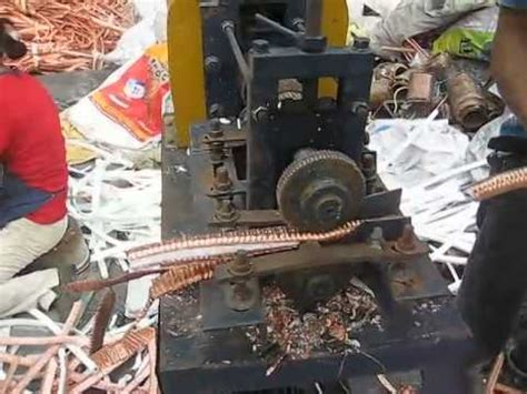 wire skinner scrap wire fs 918b scrap copper recycling