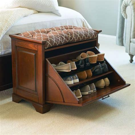 hidden storage shoe bench essex tilt out shoe bench
