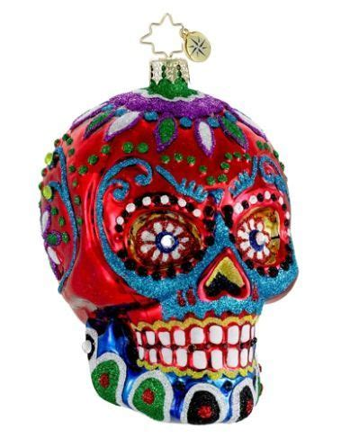 la calavera sugar skull hand personalized christmas