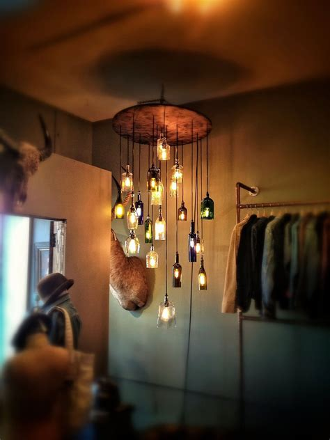 Diy Chandeliers That Will Light Up Your Day Liquor Bottle Chandelier