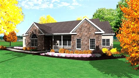 One Story Ranch House Plans 1 Story Ranch Style Houses Single Level Houses