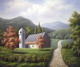barn scenery yessy gt a gt original paintings gt barn landscape