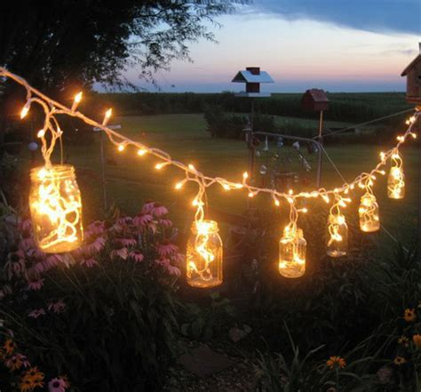 Diy Patio Lights Diy Outdoor Lighting Ideas Easy Diy And Crafts