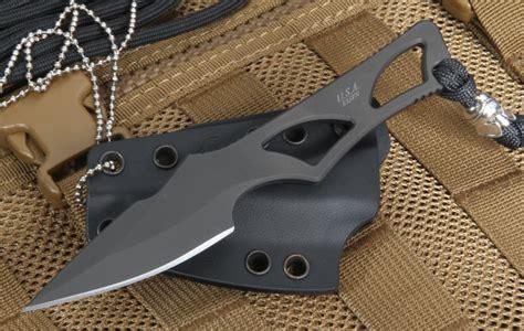 spartan blades enyo black neck knife fixed blade