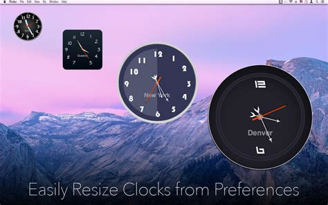 themes apple clock desktop clock macupdate