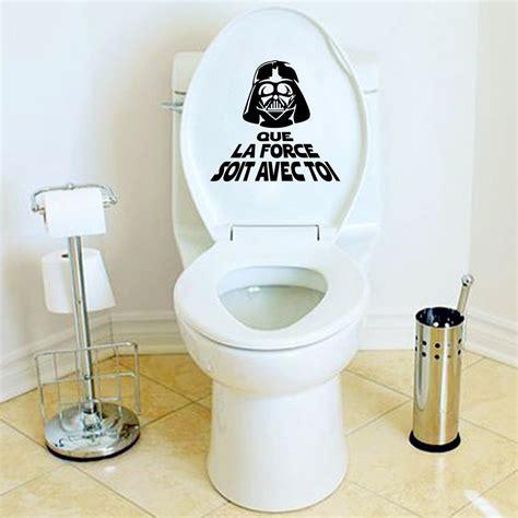 Toilet Sticker creative vinyl wall sticker war toilet wc