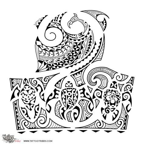 hawaiian family tattoo designs of protection family custom
