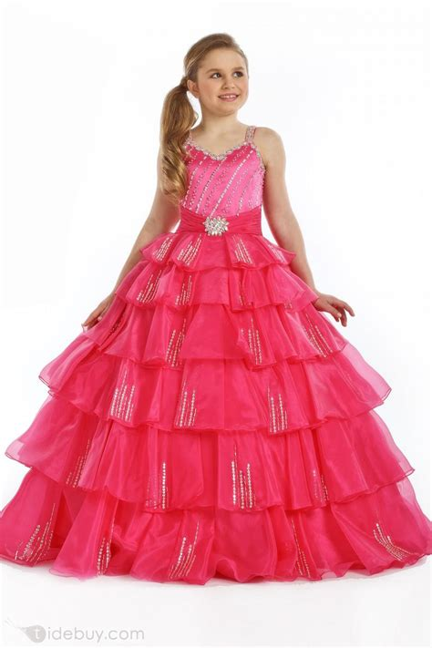 Pretty Dresses pretty a line straps floor length sequins flower