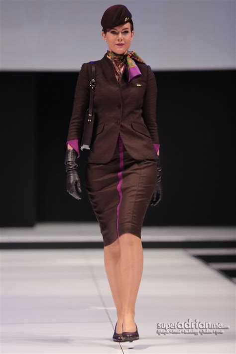 etihad cabin crew new etihad airways uniforms are chic and