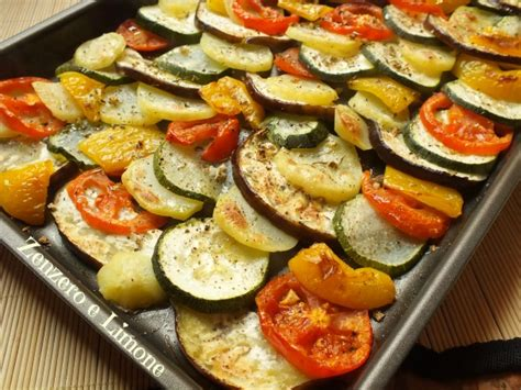 cucinare verdure verdure al forno ricetta contorno zenzero e limone