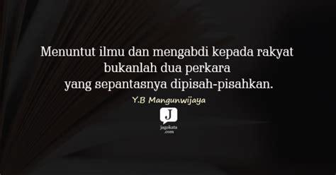 kata kata yb mangunwijaya jagokata