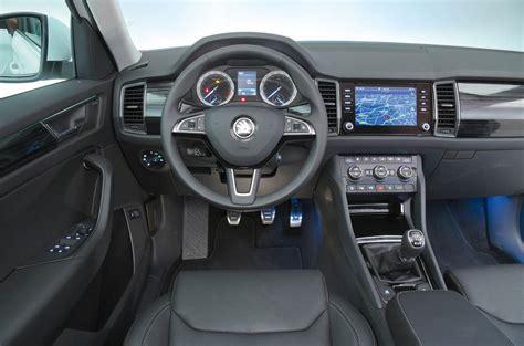 skoda kodiaq interior skoda kodiaq interior autocar