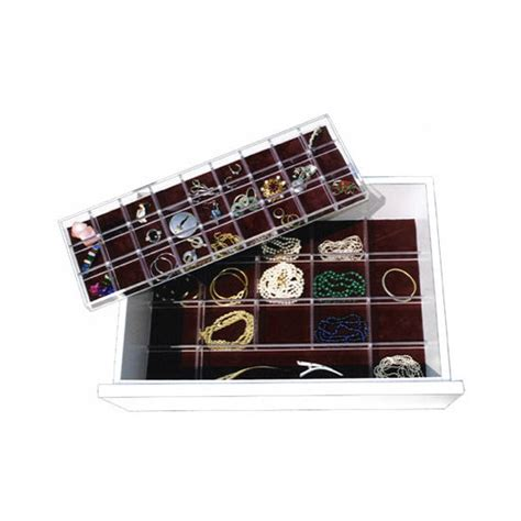 Jewelry Tray Drawer Inserts by Jewelry Inserts By Transparent Inserts Kitchensource